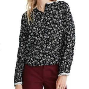 Madewell NEW Print Mix Meadow Floral Shirt…